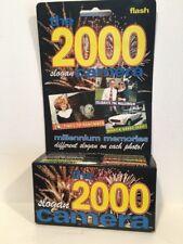 Millennium 2000 Disposable Camera W/flash Slogan 35 MM NIP New In Box