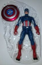"Marvel Legends Avengers Endgame Wave 3 CAPTAIN AMERICA Loose 6"" Figure Hasbro"