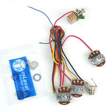 Custom Wiring Harness /1 push pull Switch Pot /3 pots With Output Jack