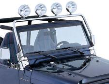 New Jeep Wrangler Tj 97-06 Stainless Steel Light Bar  X 11138.01