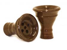 Khalil Mamoon Egyptian Clay Head Shisha Bowl Hookah Al Fakher Starbuzz Sheesha