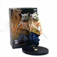 """Demon Slayer Kimetsu no Yaiba Inosuke Hashibira 5.5"""" Action PVC Figure Toys Gift"""