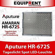 Aputure Amaran HR672S Tageslicht Spot High CRI 95+ LED Leuchte mit Akkus (EQM19)
