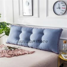 Long Pillow Cushion Backrest Cushion Large Sofa Waist Pillow Tatami Double Bed