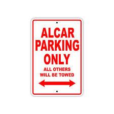 Alcar Parking Only Boat Ship Yacht Art Notice Decor Novelty Aluminum Metal Sign