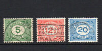 Netherlands Set of 3 Stamps c1921 Used (3308)