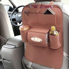 Car Back Seat Storage Organizer Multi Pocket Tissue Holder Accessory Hanger