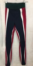 Noka'oi Yoga Pant Green Blue Red Tights Size 1