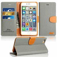 Case for iPhone SE 2020 / iPhone 8 / 7, Premium Folio Leather Flip Wallet Phone
