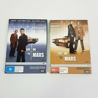 LIFE ON MARS (UK) The Complete Seasons 1 & 2 DVD 8 Disc Set R4 (Aus Seller)