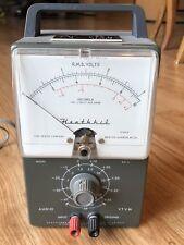 Heathkit AV-3 VTVM Vsccum Tube Volt Meter For Ham Radio