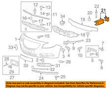 GM OEM Front Bumper Grille-Energy Absorber Left 22865539