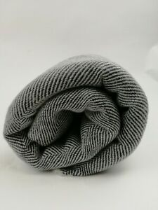 Pure 100% Cashmere Blankets Throws Handwoven Nepalese Handmade Throws black 1