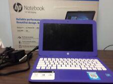 "HP Stream Notebook 14"" HD Display 4 GB Intel Celeron Dual  Windows 10 Purple"