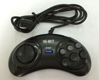 16-bit SEGA GENESIS & MEGADRIVE Controller Handle 6 Button Gamepad