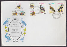 Malawi 1975 FDC official illustrated Cover Game Birds Philatelic Bureau cancel