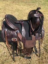 """Western Treeless Horse Saddle 14"""", 15"""", 16"""""""