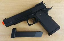 Airsoft Gun Ukarms P2002 Black Spring Powered 1911 Style Pistol 6mm BB BBs