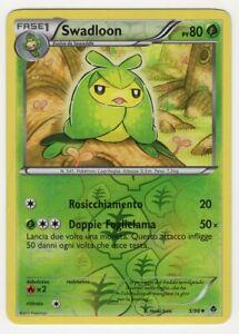 Pokemon Swadllon 5/98 Non Comune reverse - Nuove Forze ITA Mint