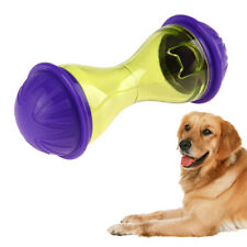 Pet Dog Puppy Cat Interactive Play Toy Treat Dispensing Holder Training Chew Toy