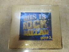 This Is Rock Ballad Gold 3  UK 2 CD set