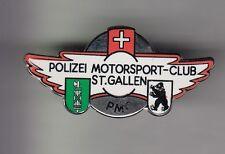 RARE PINS PIN'S .. POLICE MOTO BMW MOTORSPORT BLASON OURS ST GALLEN SUISSE ~DB