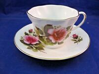 ROYAL MINSTER FINE BONE CHINA TEA CUP AND SAUCER - MADE IN ENGLAND
