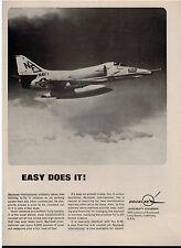 1964 McDONNELL DOUGLAS  SKYHAWK  Magazine  PRINT AD