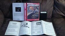 Rare Thunder Castle & Instructions Booklet (Custom Box) Intellivision