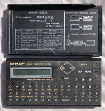 Retro Electronic Sharp Calculater Model PC-1248