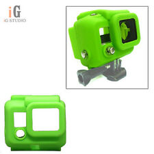 Green Silicone Protective Case Cover Skin for Gopro HERO 4 3+