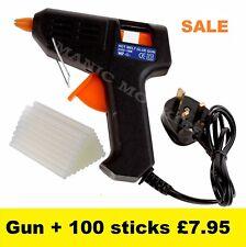 Glue Gun Hot Melt Electric Trigger DIY Adhesive Crafts 100 FREE GLUE STICKS