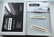 JBE Pickups aka Joe Barden Danny Gatton Telecaster Pickup Set WHITE Made in USA