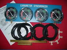 4 Carb Synchonizer XS1100 CB750 CB900 GS750 GL1000 KZ1000 H1 H2 XS750 XS850