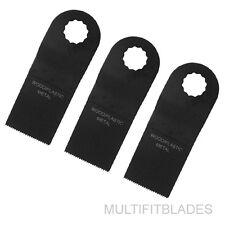 "3 x 1-3/8"" Bi-Metal Oscillating Tool Blades - Ryobi Job Plus Compatible"