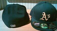 Oakland Athlectics New Era Authentic Hat Baseball 7 5/8