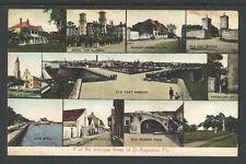 1910s 11 OF THE PRINCIPAL VIEWS OF ST AUGUSTINE FLA POSTCARD