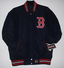SIZE XXL  MLB BOSTON RED SOX  Wool  REVERSIBLE JACKET NEW JH DESIGN 2XL