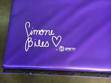 simone biles by Sa spieth america Purple Training Mat