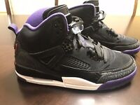 New Nike Air Jordan Spizike Court Purple Sneaker Shoes Size US 10