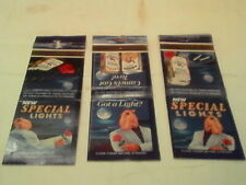 Joe Cool Camel Special Lights Matchbook Covers Lot of (3) No Matches