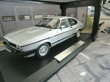 FORD Capri 2.8i Injection MKIII 3 Coupe 1983 silber EXCLUSIVE 1/150 Norev 1:18