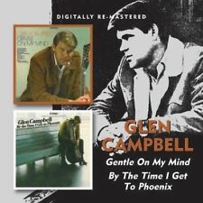 GLEN CAMPBELL Gentle On My Mind & By The Time I Get To Phoenix RARE OOP RM 2on1