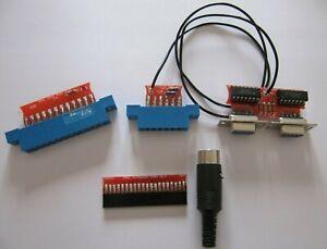 Diagnostic test Harness Commodore 64 C64 128 diagnostica 586220 785260 - (NEW)