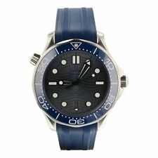 OMEGA 210.32.42.20.06.001 Seamaster Diver 300m 42mm Chronometer Men's Wristwatch - Blue/Gray/Silver