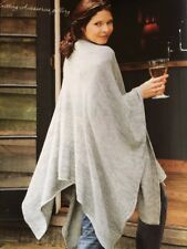 BK3 - KNITTING PATTERN - Woman's Throw-on Shawl / One Size/ 4 Ply