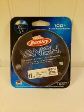 Berkley 1314389 VNFS17-15 Vanish Fluorocarbon Line 10 lb. test 250 yds 23245 NEW