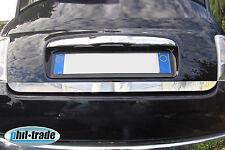 Fiat 500 V2A Chrom Heck Leiste aus Edelstahl Kofferraum Zierleiste ab 2007>