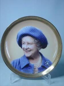 Davenport THE NATION'S GRANDMOTHER Plate Queen Elizabeth Queen Mother 1900-2002