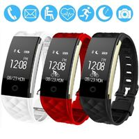S2 Smart Bracelet Wireless Bluetooth Fitness Tracker with Heart Rate Monitor
